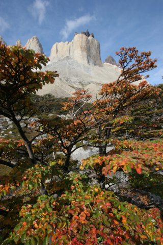 Los Cuernos depuis la Valle Frances