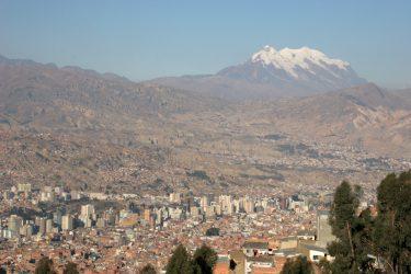 Ville La Paz - Bolivie